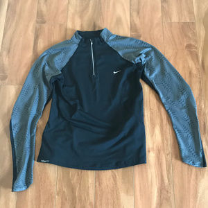 Nike Fit Dry Women's Track Jacket Workout Pullover